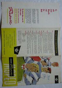 Prospekt Horex Rebell Moped Horex-Werke KG Fritz Kleemann Bad Homburg (126168)