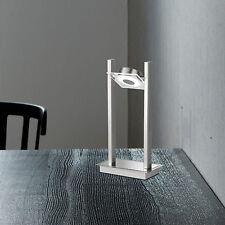 WOFI LED Lámpara de MESA Jersey Cromado níquel mate 1 Luz 4,5 vatios 300 Lumen
