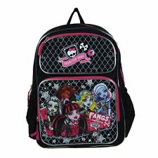 "Monster High 16"" Backpack - Clawdeen Wolf, Abbey Bominable, Lagoona Blue"