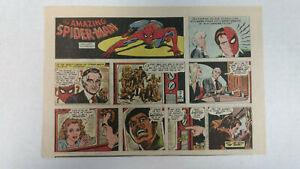 AMAZING SPIDER-MAN Newspaper Comic Strip               Sunday September 2nd 1979