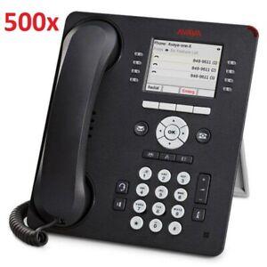 Bulk Lot 500 x Avaya 9611G Gigabit IP Desk Phone - Tested not Cleaned