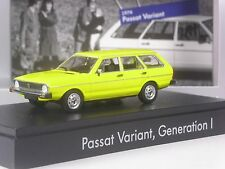 TOP: Minichamps VW Passat Variant I gelb in 1:43 in OVP