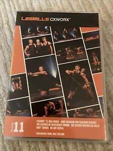 Les Mills CXWORX 11 DVD, CD, & NOTES