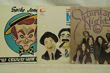 lot lp records Spike Jones Marx Brothers Saturday Night Live comedy