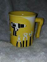 Menards Tools Coffee Mug Yellow Cup Ceramic Handyman