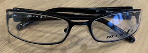 Alain Mikli Glasses Spectacles MO 420 Black Grey Mens