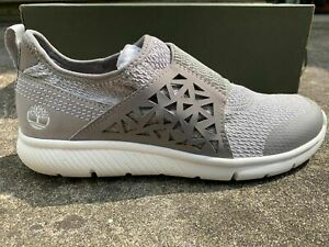 Timberland Woman's Boltero Low Sneakers Shoes Gray  A1R32 New