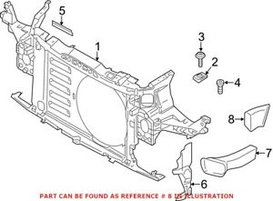 Genuine OEM Radiator Support Air Duct for Mini 51749802121