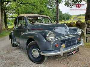 Excellent quality upgraded 1952 Yukon grey  Morris Minor convertible