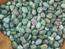 500 Carat Lots of Polished Tumbled Green Aventurine + FREE Faceted Gemstone