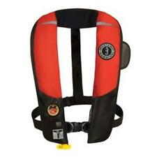 Mustang Red/Black Hit Inflatable Pfd Automatic W/Harness - Built For Speed