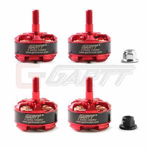 4 x New GARTT Z 2205S 2300KV Brushless Motor FPV QAV250 210 Drone Quadcopter NEW