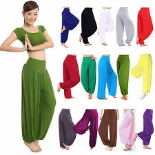 Women Harem Trousers Gypsy Alibaba Long Pants Baggy Yoga Pilate Fitness Leggings