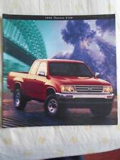 FOLLETO de T100 de Toyota 1996 EE. UU. del mercado de gran formato