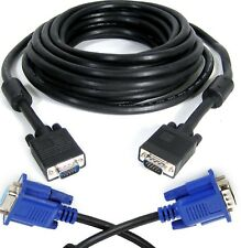 SVGA VGA Male PC Monitor TV LCD TFT Projector Cable 1m 1.5m 2m 2.5 3m 20m 30m UK