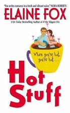 HOT STUFF by ELAINE FOX  MODERN CONTEMPORARY PAPERBACK ROMANCE