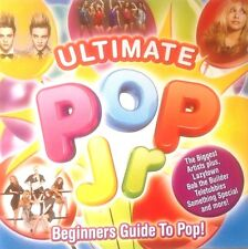 ULTIMATE POP JR - 2 X CD CHILDRENS / KIDS / BOYS / GIRLS BIRTHDAY PARTY CD