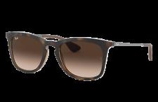 Ray Ban Highstreet Havana / Brown Gradient Unisex Sunglasses RB4221 865/13 50