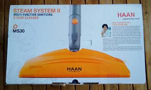 NIB Haan Steam System 2 multi-function sanitizing steam cleaner - model # MS-30