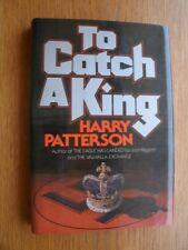 Harry Patterson / Jack Higgins To Catch a King 1st HC US SIGNED Near Fine