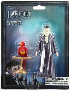 New Universal Wizarding World Of Harry Potter Dumbledore & Fawkes Figure Set