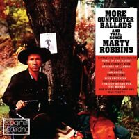 Marty Robbins More Gunfighter Ballads and Trail Songs CD NEW