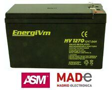 Batería de plomo AGM - 12V 7Ah - EnergiVm MV1270