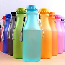 Portable Leak-proof Sports Travel Water Bottle Cup Cycling Camping Fashion Color