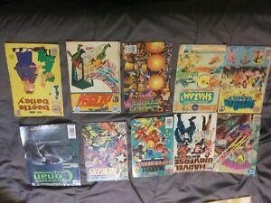 Mystery comic book lot, Batman, iron Man, X-Men, old, modern, Marvel, DC, etc