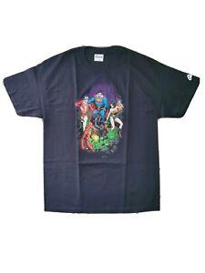 New Justice League JLA #91 Cover Men's L Large T-Shirt Black Graphitti Designs