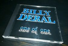 """""""SPECIAL SALE"""" BILLY DERAL- One of One (NEW CD) Great Mix of Songs!"""