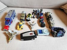 Transformers Movie mixed lot Optimus Prime & Megatron Cyberverse & other toys
