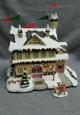 "2003 Hawthorne Village Rudolph's Christmas Town, ""Santa & Mrs. Claus Castle"""