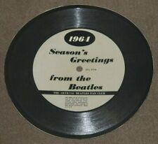 THE BEATLES 1964 SEASON'S GREETINGS OFFICIAL BEATLES FAN CLUB RARE