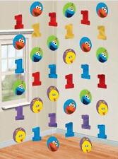 Sesame Street HANGING STRING DECORATION 1st birthday first  party supplies Elmo
