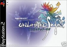 Used PS2 Unlimited SaGa  SONY PLAYSTATION JAPAN IMPORT