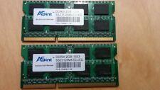 ASint 4GB(2X2GB) PC3-10600 DDR3 1333MHz Laptop Memory Ram SSZ3128M8-EDJED