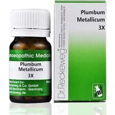 Dr Reckeweg Germany Homeopathy  Plumbum Metallicum 3X Trituration (20g)