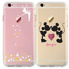 Cartoon Movie Character Fan Art Silhouette CLEAR TPU Cover Case for iPhone Range