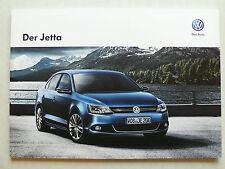 Prospekt Volkswagen VW Jetta, 11.2012, 64 Seiten