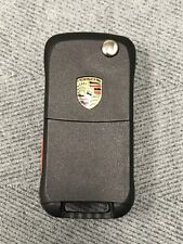 Porsche Cayenne 3 Button with Panic Remote Shell Fob Case key Brand New