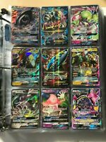 Pokemon 50 Card Lot GUARANTEE 3 V/GX/EX/MEGA/FULL ART +5 Reverse/Holo Authentic