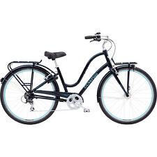 "Electra Townie Commute 8D EQ Galaxy Black Lady City Urban Bike 28"", Retro Design"