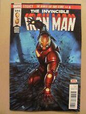 Invincible Iron Man #593 Marvel Legacy 2017 Series 9.6 Near Mint+