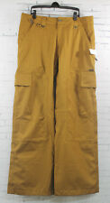 New Bonfire Mens Arc Shell Ski and Snowboard Pants Large Driftwood