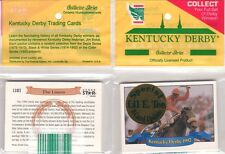 KENTUCKY DERBY 1993 HORSE STAR CARDS FACTORY SPECIAL 9 CARD UPDATE SET