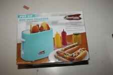 Elite Ect-304Bl Hot Dog Toaster Cooker Retro Vintage * Aqua Blue Ab2