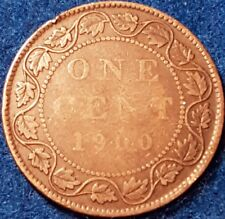 1900 Canadian Large Penny  ID #A5-72