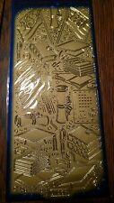 Starform gold graduation themed sticker sheet 125gg