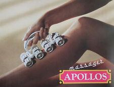 2xAPOLLOS massager Massagegerät Ganzkörper Hautpflege Massageroller Cellulite